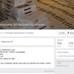 [Video] Poklanjamo 300 MacBook pro računara a uzimamo vaše Facebook lozinke. Ne nasedajte prevaru!